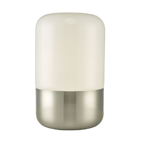 Deacon Table Lamp Touch Satin Nickel (Class 2 Double Insulated) BXDEA4238-17